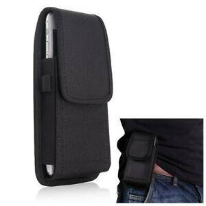 Universal Nylon Holster Belt Hook Pouch Case Cover For Samsung Galaxy Mobile