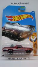 HOT WHEELS 2017 #216 '68 EL CAMINO RED MUSCLE MANIA 4/10 NEW & SEALED [ 94 ]