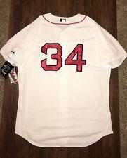 NEW Authentic David Ortiz On-Field Majestic Boston Red Sox Jersey 52 2XL NWT