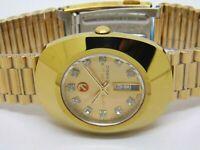 Rado Diastar Day Date Sealed Automatic men's Excellent Wrist Watch Run Order