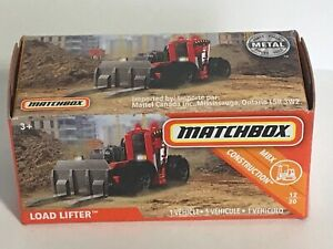 2019 Matchbox Power Grabs #38 Load Lifter™ MATTE RED / LOAD LIFTER  New In Box