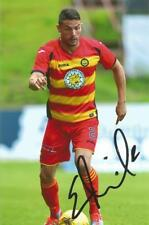 PATRICK THISTLE: GARY MILLER SIGNED 6x4 ACTION PHOTO+COA