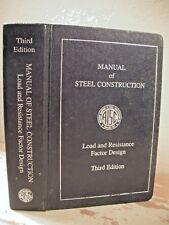 MANUAL OF STEEL CONSTRUCTION LOAD & RESISTANCE FACTOR DESIGN 3rd Edition Book