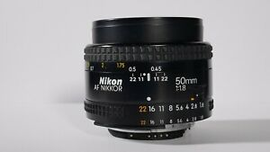 Nikon Af Nikkor 50 mm