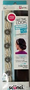 Scunci Hollywood Roll Hairband #20054A Quick and Easy Look in Under a Minute