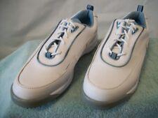 Women's FootJoy GreenJoys White Leather Oxfords Golf Shoes 48712 Size 9M