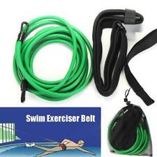 Swimming Bungee Training Belt Swim Resistance Leash Exerciser Belt Swim Tether