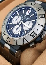 Bulgari Diagono Titanium 44mm Chrono - Bvlgari TI44TACH - Full Set - Automatico