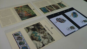 2002 Niue WWF stamps and first day covers with small giant clam information.