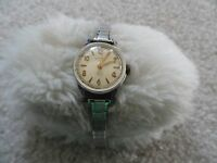 Ginsburg's 17 Jewels Incabloc Wind Up Ladies Vintage Watch