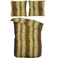 Microfaser Bettwäsche Garnitur 2 teilig 135x200cm Afrika Gepard