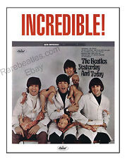 The Beatles butcher cover poster 16x20 highest quality butcher cover image!