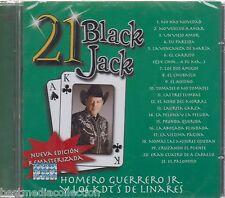SEALED - Homero Guerrero Jr y Los KDT's De Linares CD 21 Black Jack BRAND NEW