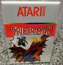 "Spider-Man Atari 2600 Vintage Game Box  2""x3"" Fridge Locker MAGNET Spiderman"
