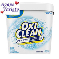 OxiClean White Revive Laundry Whitener + Stain Remover, 5 3 Pound (Pack of 1)