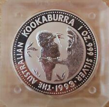 Australia Australie 1 dollar 1993 Argent Silver 1 OZ Kookaburra