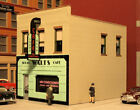 """THE MAIN STREET CAFE KIT BY CITY CLASSICS HO-SCALE - 4-1/4""""L X 3-1/8""""W X 3-3/8""""H"""