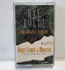 Christian Performance Cassette Tape Ray Boltz HERE COMES A MIRACLE B3 to G5