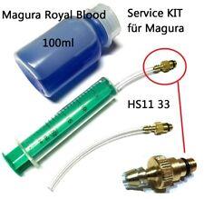 1x Service Kit mit 100ml Magura Royal Blood Öl Hs11 Hs22 Hs33 Evo Firmtech bis 2