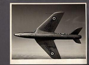 HAWKER HUNTER F2 LARGE ORIGINAL VINTAGE STAMPED PRESS PHOTO RAF 16515