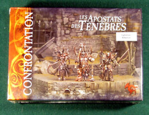 Apostate of Darkness, Ophidian Rackham Confrontation OOP Metal Miniatures