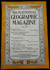 National Geographic Magazine May 1944 UKRAINE - NIGERIA - KANO - GREECE - COAL -