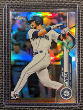 2020 Topps Chrome RC Rookie Refractor AUSTIN NOLA Card #11 Seattle Mariners