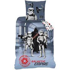 Cti 044673 Housse de couette Star Wars Dark Side enfant coton Gris 200 x 140...