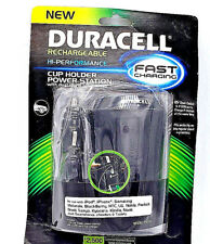 Duracell Fast Charging Cup Holder Power Station 12V Dual Outlet & 2 USB Ports
