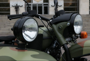 Sidecar spot light assembly for motorcycle URAL,DNEPR, Gear Up, Patrol, Tourist.