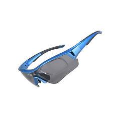 ROCKBROS Polarized Cycling UV400 Sporting Sunglasses Myopia Eyewear Frame Blue