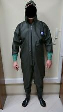 Drysuit PU full body waders suit chest entry, all sizes