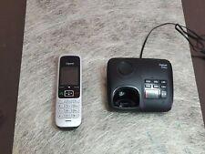 Gigaset C430A Schnurloses Telefon mit Anrufbeantworter - Schwarz/Silber