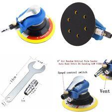 "Carrosserie 6"" - (150 mm) Air Random Orbital Sander pneumatique Disque polisseur Tool Kit"