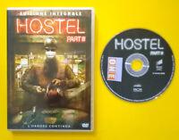 DVD Film Ita Horror HOSTEL Part III quentin tarantino ex nolo no vhs lp lp (D1)