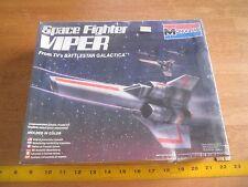 1978 Battlestar Galactica Space Fighter Viper model kit sealed in box Original