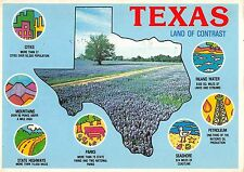 B95512 texas land of contrast the lone star state usa
