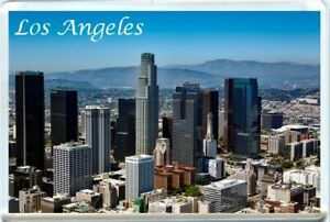 LOS ANGELES, CALIFORNIA, USA FRIDGE MAGNET-3