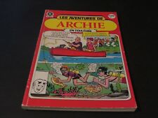 Archie Comics HÉRitage Editions Comicorama No #8029 French 1988 5 Comic In 1
