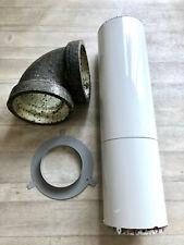 Gaine insonorisée, silencieux conduit de ventilation Ø150 metal FALMEC