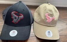 Houston Texans Nfl Football Cap His And Her Hat Lot Of 2