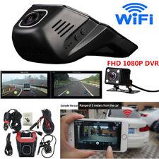 FHD 1080P Hidden Wifi Car SUV DVR Dash Video Recorder Dual Lens Camera +G-Sensor
