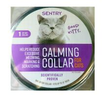 Sentry Calming Collar for Cats 1 Pack - NEW IN SLIGHTLY DAMAGED PACKAGING