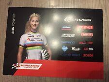 Carte Karte Jolanda NEFF cycling radsport 15x21cm MTB Star
