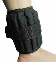 UK Warrior Adjustable Ankle Wrist Weights Fitness Running Jogging (PAIR) 10 Kgs