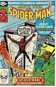 Marvel Tales #138 (April 1982, Marvel) Spider-Man F/VF Stan Lee Steve Ditko