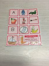 The Pink Series - Alphabet Sort Card (180 Cards) Montessori