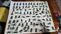 Tim-Mee Vietnam Green Plastic Toy Army Men Medics Lot Of 97 Rare Pieces