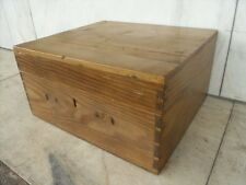 Pine 20th Century Antique Boxes & Chests