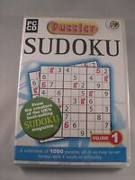 Sudoku - Puzzler - Vol 1 - 1,000 Puzzles - PC Dvd Rom - New & Sealed